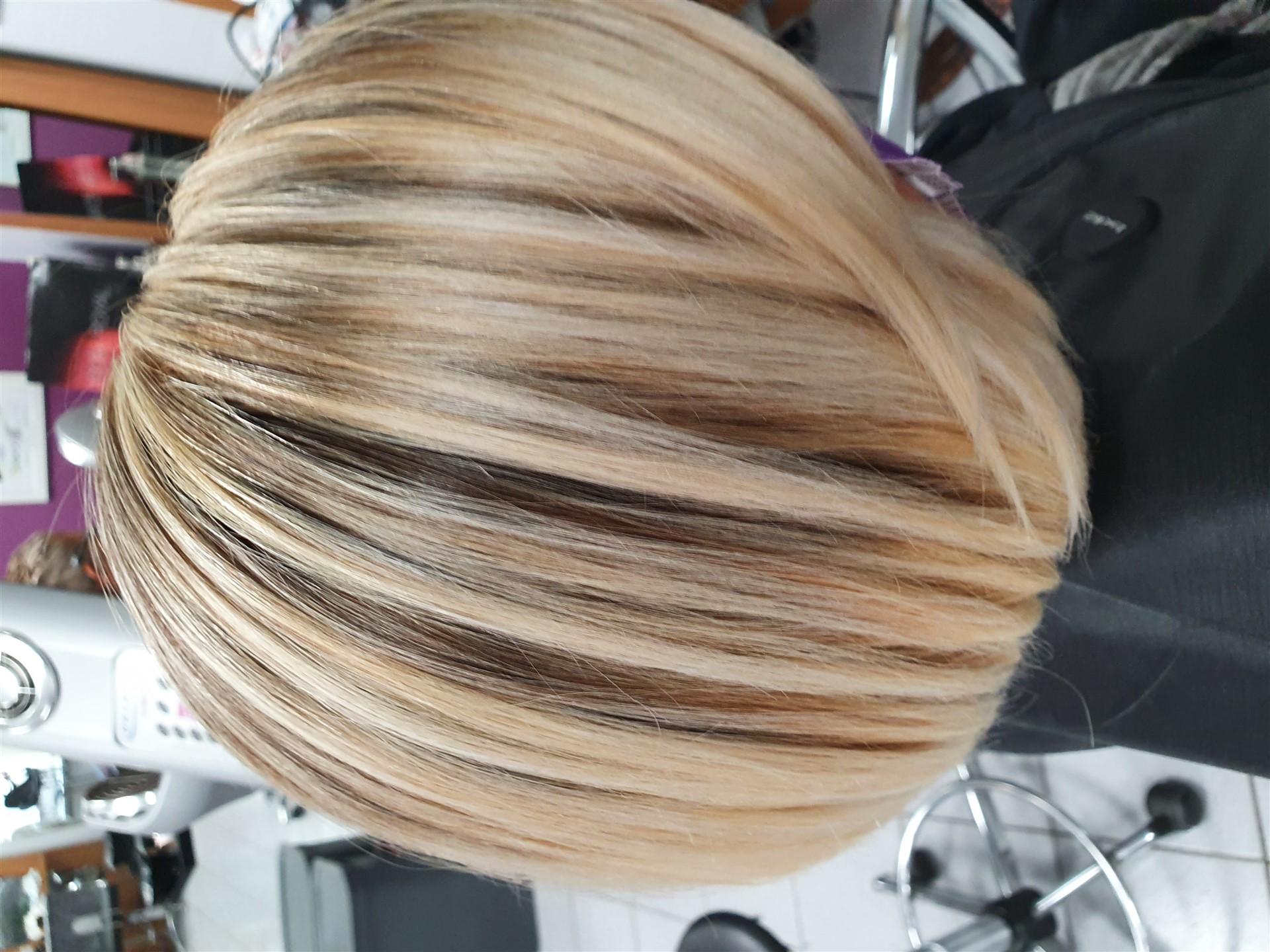 mèches millesime coiffure
